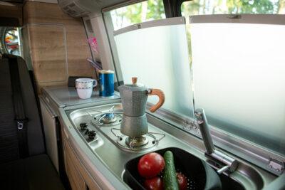 VW California Coast zabudowa kuchenna